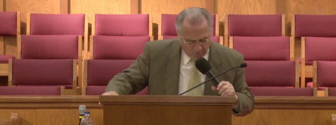 """Long Suffering"" Wednesday Evening Service 04/08/2020 Pastor D. R. Shortridge"