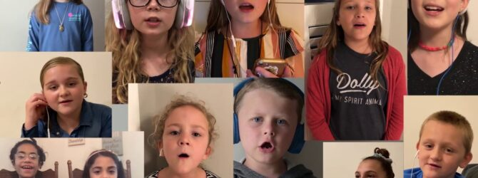 "NCKids Virtual Choir-""Raise a Hallelujah"""