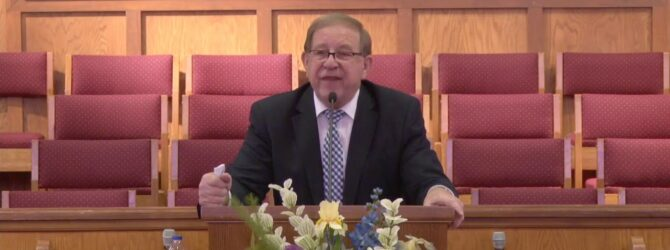 Sunday Sunday School Lesson Bro. Tim Bolynn