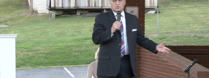 """""""The Blessings of Faith"""" Pastor D.R. Shortridge Saturday Evening Drive in Service"""