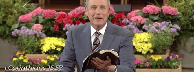 """""""The Firstfruits"""" pastor Loran Livingston, April 12, 2020"""