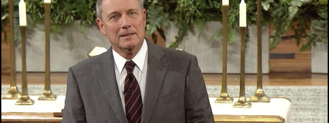 """The Time Has Come"" pastor Loran Livingston, April 26, 2020"