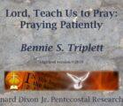 Triplett on Prayer 10