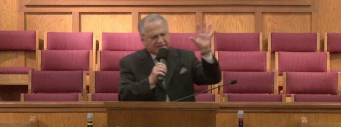 """Wiping the Tears of Jesus"" Pastor D. R. Shortridge"