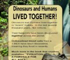 DINOSAURS and HUMANS… (Evolution Crusher) Evolutionists claim that dinosaurs are…