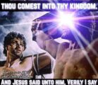 Luke 23:39-43 39 One of the criminals hanging there began…