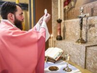 Catholics : we don't worship images , protestants don't submit…