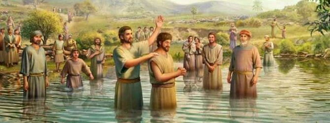 The Controversy Between Baptism and Born-Again Biblically, to be born…