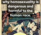 I've heard many times from atheists, homosexuals and critics of…