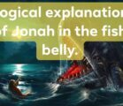 There's a lot of controversy surrounding the story of Jonah…