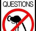 Ask questions. I don't consider my faith a cult where…