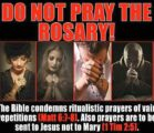 """Matt. 6:7-8 7 """"And when you pray, don't be like…"""