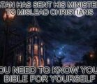 2 Cor. 11:13-15 13 They are false apostles, lying workers….