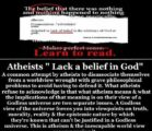When Atheist become Intellectually biased