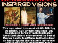 1 John 4:1 1 My dear friends, many false prophets…