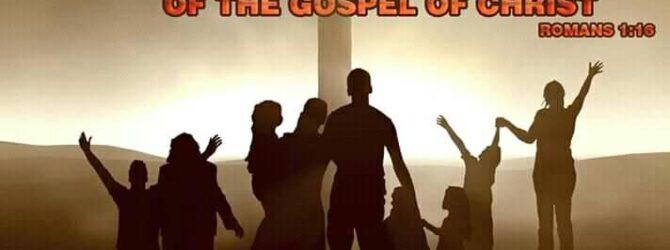 Rom. 1:16-17 16 For I am not ashamed of the…