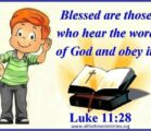 Luke 11:27-28 27 As Jesus was saying these things, a…