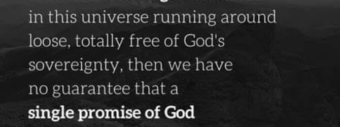 God is the Prime Mover (Unmoved Mover), and no event,…