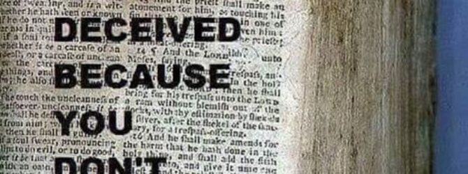 Amen ?? Hosea 4:6 my people are destroyed for Lack…
