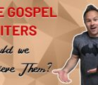 Why We Should Trust the Gospel Writers. New VIDEO is…