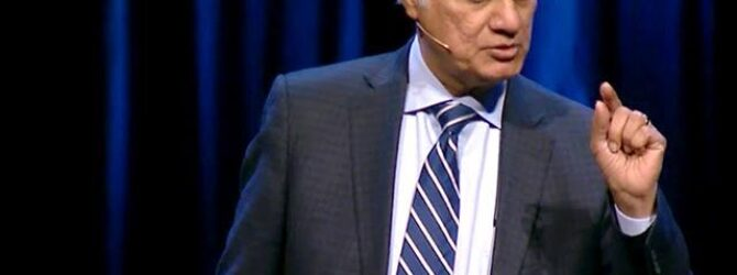 World-renowned Christian apologist Ravi Zacharias has received a dire prognosis…