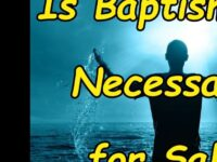 Baptismal regeneration is the belief that baptism is part of…