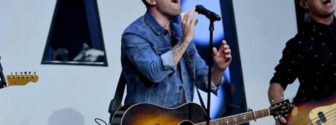 Jon Steingard, lead singer of the Christian rock band Hawk…