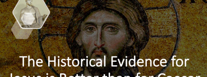 How do the historical sources for Jesus compare with Tiberius…