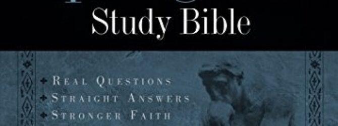 Shared via Kindle. Description: The Apologetics Study Bible will help…