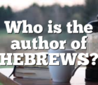 Paul the Apostle The Epistle to the Hebrews of the…