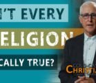 Is any belief in God sufficient? Don't all religious claims…