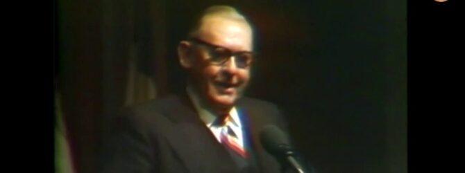 "J.T. ""Jake"" Roberts at Lee College Heritage Week — February 6, 1980"