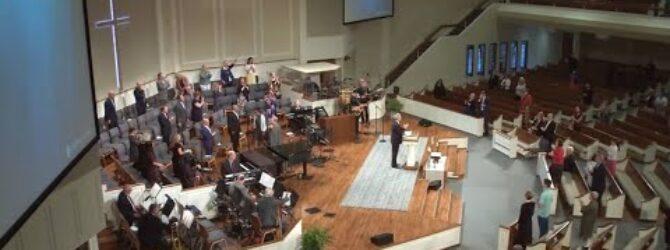 """Not Them or Me – but HIM"" pastor Loran Livingston, May 24, 2020"