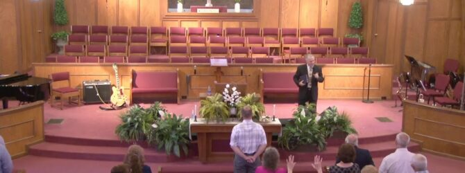 """""""The Character of One Man"""" Sunday Morning Service 06/14/20 Pastor D. R. Shortridge"""