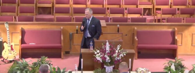 """""""The Characteristics of A Great Father"""" Sunday Morning Service 06/21/20 Pastor D. R. Shortridge"""
