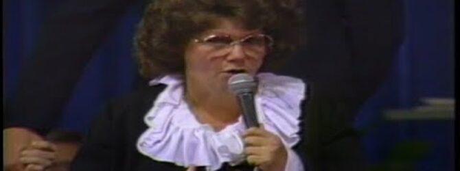 Annette Watson Preaches at Centennial Church of God General Assembly—1986