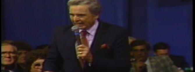 C.R. Spain Preaches at Centennial Church of God General Assembly—1986