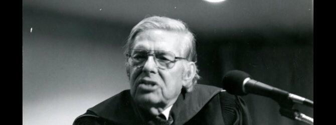 David Lemons at Lee College Heritage Week — February 1, 1981