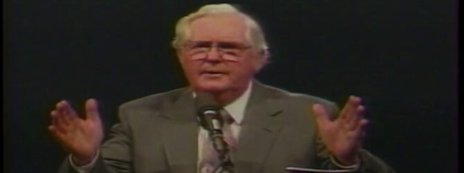 General Overseer E.C. Thomas Preaches at Centennial Church of God General Assembly—1986