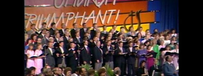 """""""The Anointing"""" Musical at Centennial Church of God General Assembly—1986"""