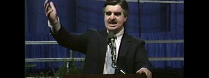 Worship and Memorial Service at Centennial Church of God General Assembly—1986