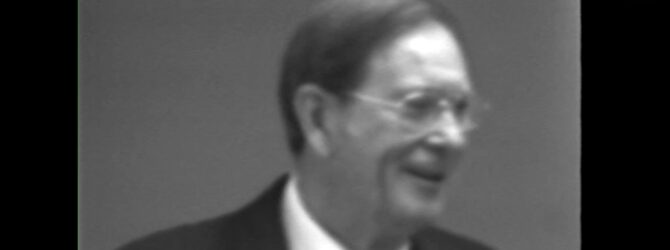 James A. Cross at Lee College Heritage Week — February 6, 1979