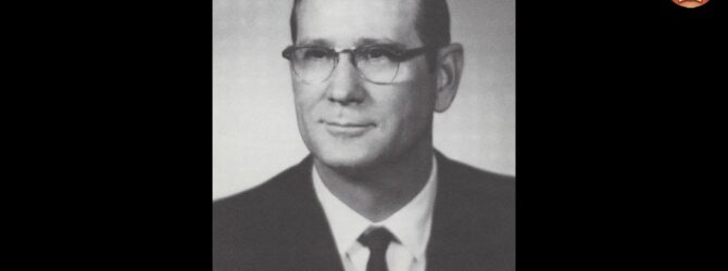 James A. Cross at Lee College Heritage Week — February 5, 1979
