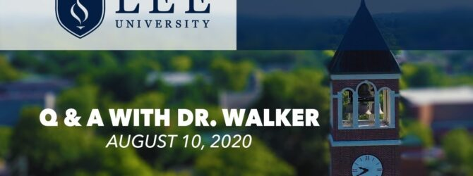 Q & A  with Dr. Walker