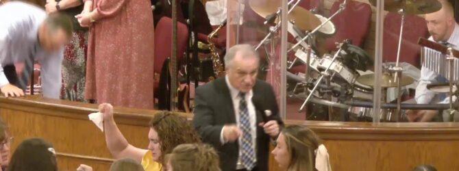 """The Speaking Stone"" Pastor D.R. Shortridge Sunday Evening Service 8/16/20"