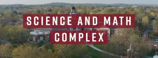 Campus Tour: Science & Math Complex