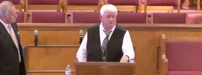 """""""Distractions"""" Evangelist David Tolbert Sunday Evening Service 9/20/20 Part 1"""