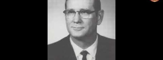 James A  Cross at Lee College Heritage Week — February 7, 1979