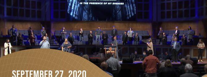 Praise and Worship | September 27, 2020