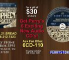 6CD110 – 6 Important Prophecy Updates